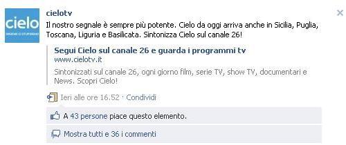 Cielo Tv sbarca in Sicilia!