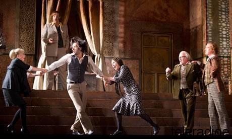 Nozze di Figaro, glyndebourne June 2012