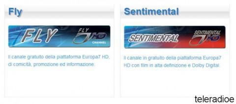 Monitor DVB-T2 Europa 7 HD Luglio 2014
