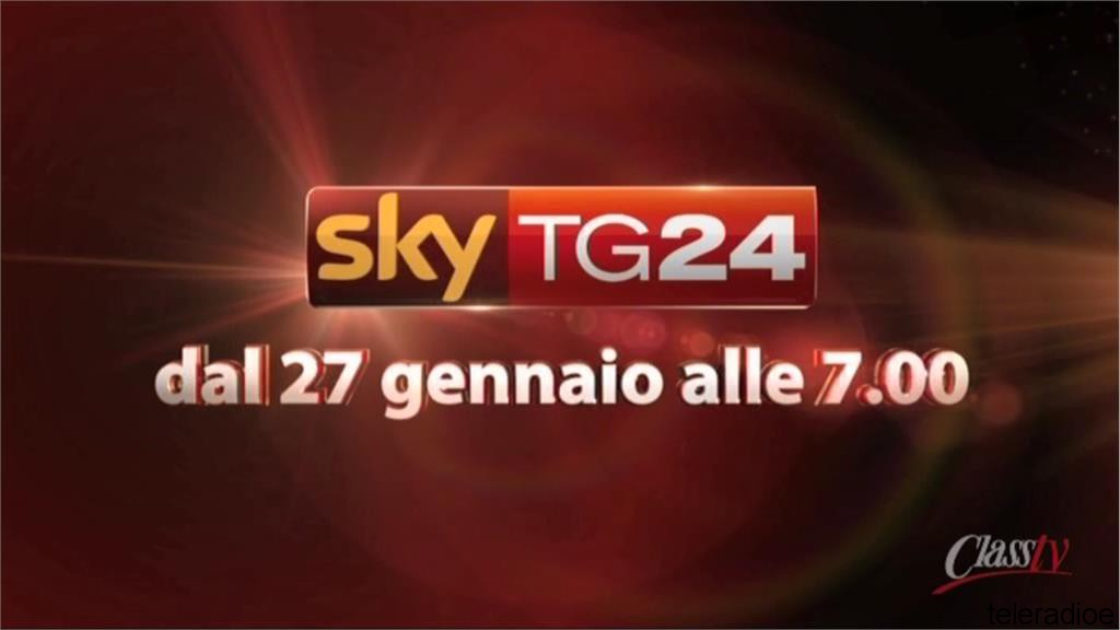 27 Gennaio 2015: Arriva SkyTg24 Canale 27