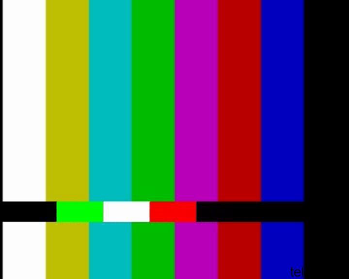 Mux TirrenoSat (UHF 28): Segnale di Test sul Canale 271