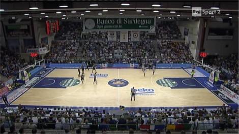 Rai Sport 2 Basket Campionato Italiano Serie A Beko Play Off Sassari - Trento qdf gara 4 07-03 22-24-47