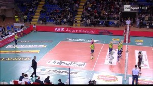 Rai Sport 1 HD (ita) Pallavolo Maschile  Camp. Italiano Superlega 2015 16 Playoff QdF gara 1  Cucine 03-11 13-11-24