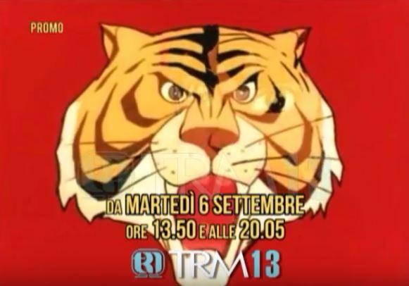 L'Uomo Tigre dal 6 Settembre su TRM13