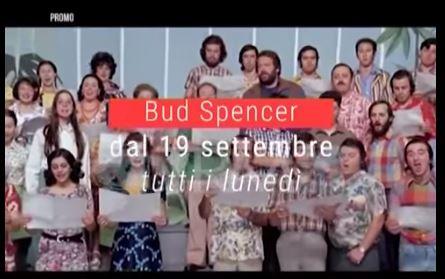 Omaggio Bud Spencer Tutti i Lunedì, dal 19 Settembre, su TRM13
