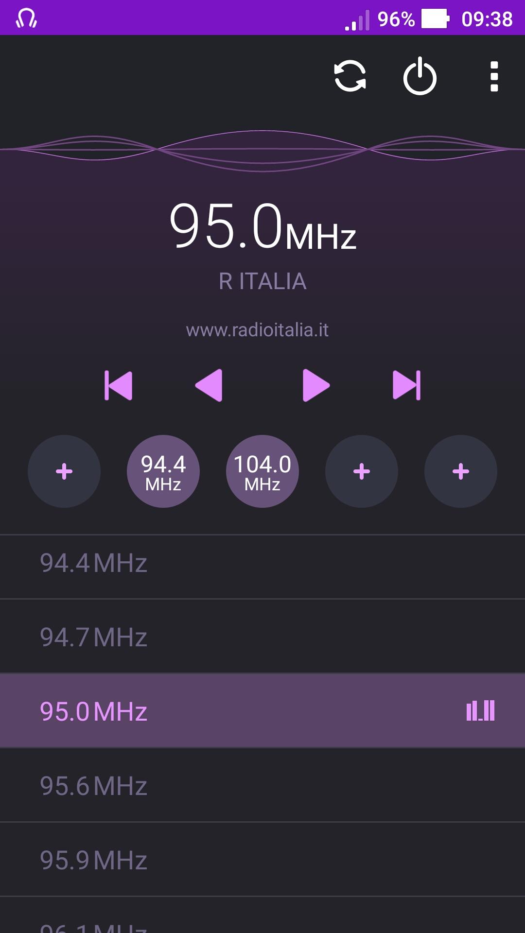 Radio Italia sostituisce Radio Mediterraneo sui 95 FM