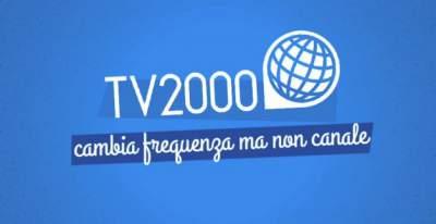 TV2000 cambia frequenza sul digitale terrestre