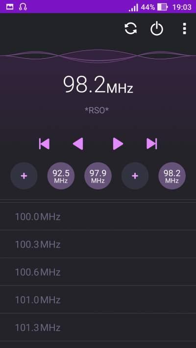 Frequenze Radio FM Analogica Acicastello Giugno 2019