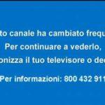 Cartello di risintonizza televisore o decoder per Cinesony