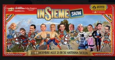 Insieme show dal 4 dicembre su Antenna Sicilia