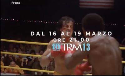 Quadrilogia Rocky su TRM dal 16 al 19 marzo