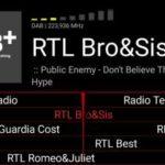 Aggiunta RTL Bro&Sis su DAB + nazionale