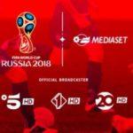 Mondiali Russia 2018 come vederli sul satellite