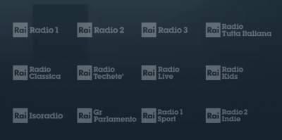 Aggiunta Rai Radio 2 Indie sul digitale terrestre o sul DAB+
