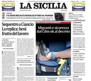 """Dopo 41 anni cambia la direzione de """"La Sicilia"""""""