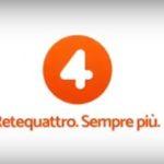 La nuova Rete 4 e il logo rinnovato