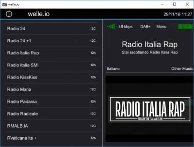 Aggiunta Radio Italia Rap al mux Eurodab Italia