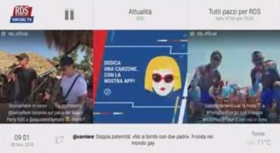 RDS Social TV aggiunto al canale 50 di Tivùsat
