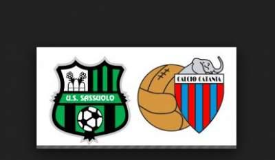 Sassuolo-Catania diretta Coppa Italia 5 dicembre su Raisport