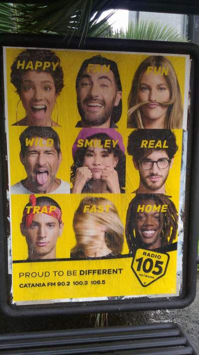Nuovo motto per Radio 105: Proud to be different