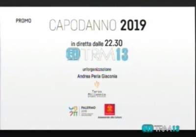 Capodanno 2019 Palermo in diretta su TRM