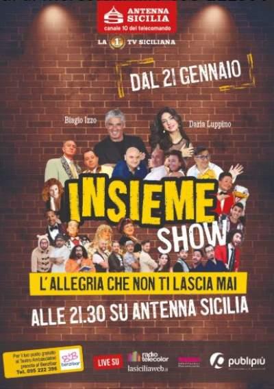 Insieme show 2019 dal 21 gennaio torna su Antenna Sicilia