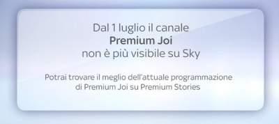 Mediaset Premium chiude Joi su Sky