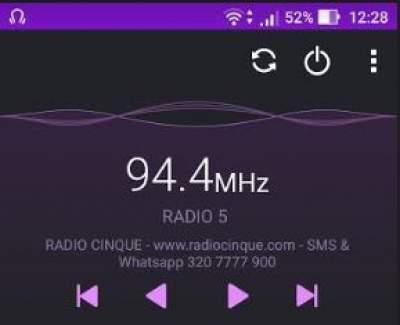 Ritorna l'rds di Radio Cinque Catania