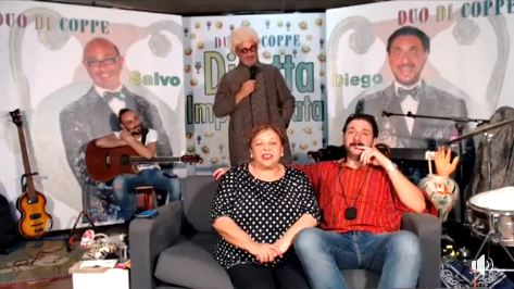 Iniziata la seconda stagione di Diretta Improvvisata con il Duo di Coppe