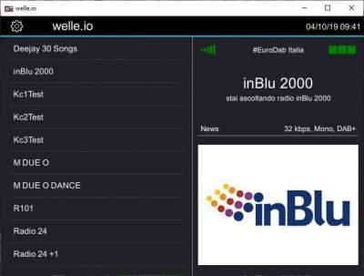 In Blu 2000 aggiunto a Eurodab Italia