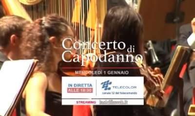 Concerto di Capodanno 2020 Catania diretta su Telecolor