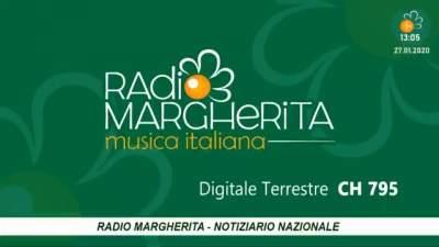 Radio Margherita diventa canale tv HD (cartelli)