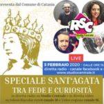 Festa di Sant'Agata diretta dal Comune di Catania su RSC, Videoregione e Telesiciliacolor