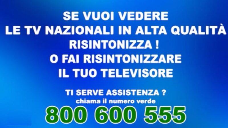 Mux Canale Italia 2: inserito cartello di servizio