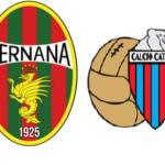 Ternana-Catania diretta gratis Cusano Italia Tv 17 febbraio ore 15.00