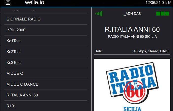 Frequenze DAB+ Sicilia